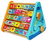 Toys of Wood Oxford Wooden Activity Centre and Bead Maze