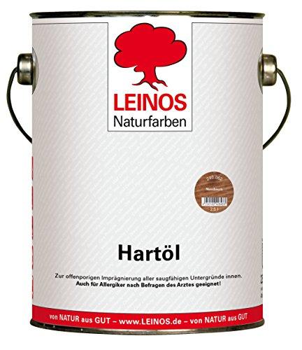 Leinos 240 Hartöl für Innen 062 Nussbaum 2,5 l -