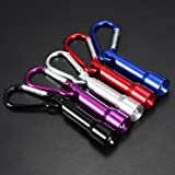 Bluelover B 10lm Zündkerze Stil tragbare Mini-LED Schlüsselanhänger Taschenlampe