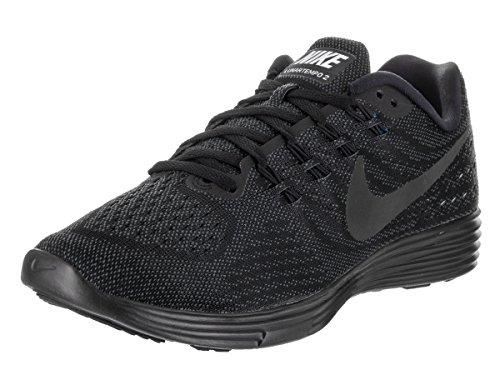 Nike Lunar Tempo 2, Chaussures de Running Compétition Homme, Bleu, Taille Schwarz