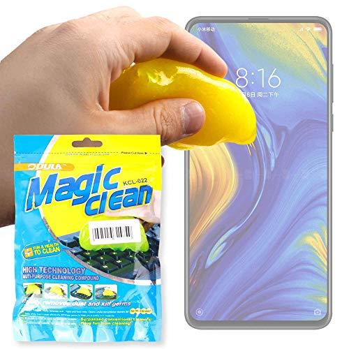 DURAGADGET Potente Gel Limpiador para Smartphone Xiaomi Mi Mix 3 - Innovador Sistema para Limpiar Su Teclado