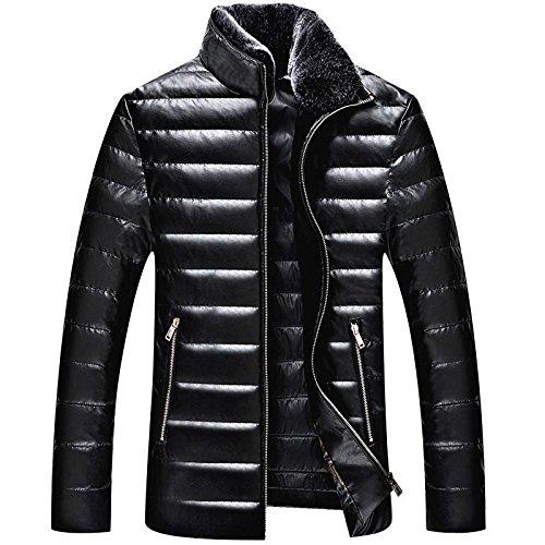 Giubbotto uomo Packable giù Puffer trapuntato leggero Puffer cappotto , 190/3xl