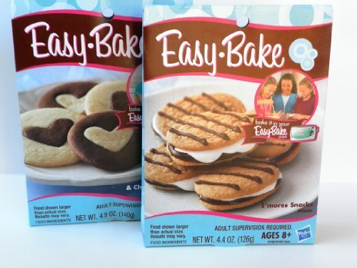 easy-bake-2-pk-combo-smores-snacks-sugar-cookie-chocolate-cookie-mixes-by-easy-bake