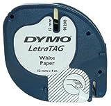 Dymo LetraTAG - Papierband - Schwarz auf Weiß, S0721510