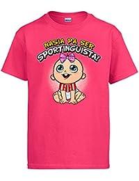 Diver Camisetas Camiseta Nacida para ser Sportinguista Sporting Gijón fútbol 5e95f7bcbcc5e