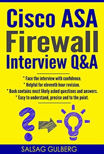 Adsl Security Router (CISCO ASA Firewall Interview Q&A : Face Interview With Confidence (English Edition))