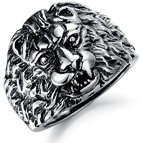 anillo de la personalidad dominante caballero rey león