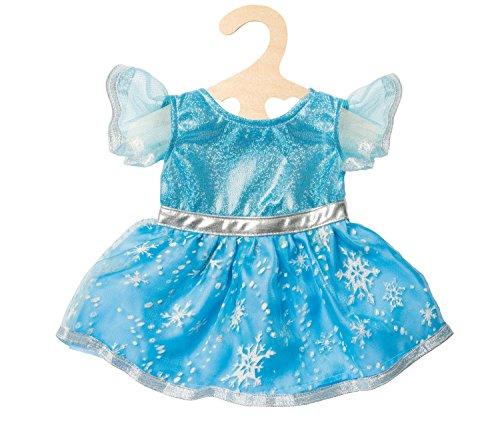 Heless 1720 Puppenkleid, Eis-Prinzessin, Größe 28 - 35 cm (Eis Prinzessin Kleid)
