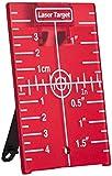 Stanley Laser Zielscheibe 1-77-170 – Laser Zieltafel mit Reflektoren - für eine Verbesserung der Laser-Sichtbarkeit – Ideal als Ergänzung zu Laser Distanzmessgeräten