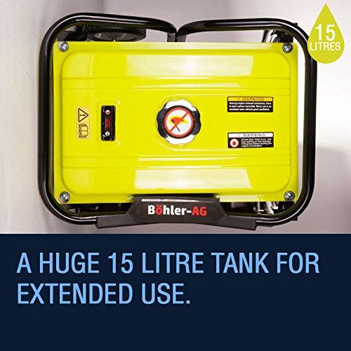 Böhler Petrol Generator 2700w, 3.5KVA, 7HP Copper Wound WX3000K – UK Plug