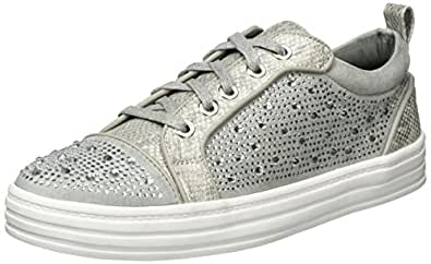 La Strada 965408, Low-Top Donna, Grigio (Grigio (Grey)), 36 EU