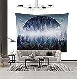 xkjymx Tapicería Decorativa para tapicería del Bosque nórdico tapicería doméstica 5 150 * 200