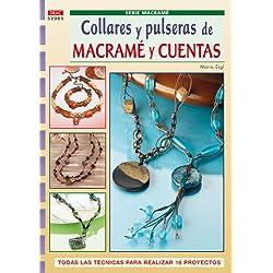 Serie Macramé nº 5. COLLARES Y PULSERAS DE MACRAMÉ Y CUENTAS (Cp Serie Macrame (drac))