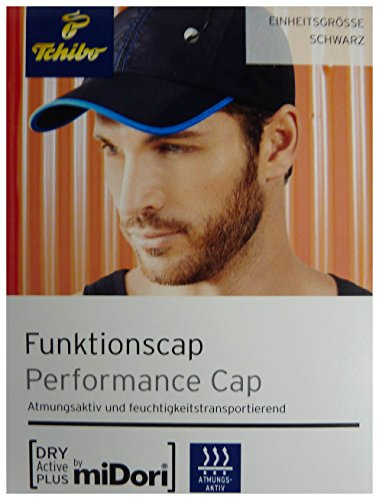 Preisvergleich Produktbild TCM Tchibo Herren Funktionskappe Kappe Cap Mütze schwarz Einheitsgröße