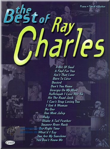 Best of Ray Charles���Partitura]