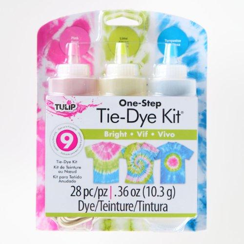 Tulip en Une étape Tie-Dye kit Med Brights