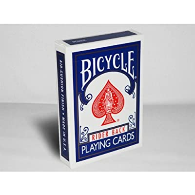 Cartes Bicycle - Cartes Poker - Cartes Bicycle Rider Back Bleu