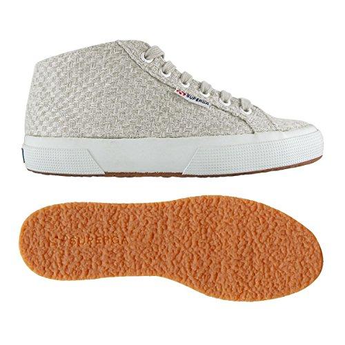 Superga 2754 Weavingw femmes, toile, sneaker high white