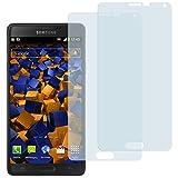 2 x mumbi Displayschutzfolie Samsung Galaxy Note 4 Schutzfolie (bewusst kleiner als das Display, da dieses gewölbt ist)