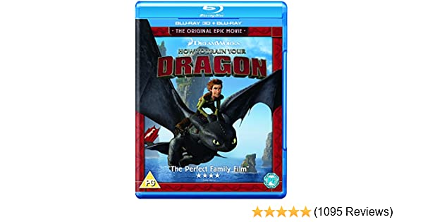 How To Train Your Dragon [Blu-ray 3D + Blu-ray]: Amazon co uk: Jay