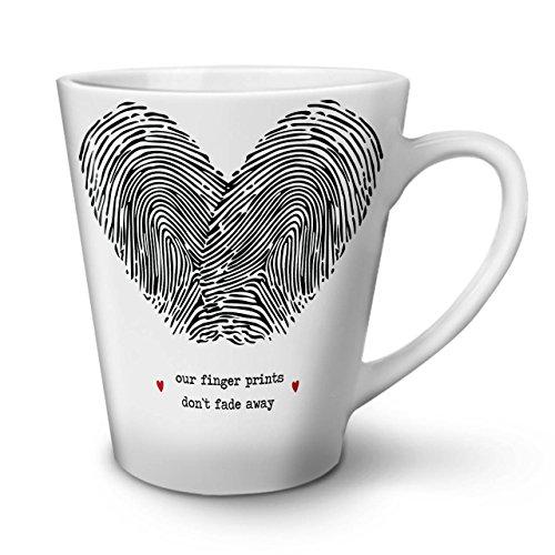 Paar Finger Valentine WeißTee KaffeKeramik Kaffeebecher 12 | Wellcoda (Tragen Jude Halloween Kostüm)