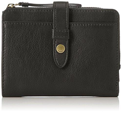 Fossil Damen Damentasche- Fiona Multifunktionale Tasche Geldbörse, Schwarz (Black), 3.18x10.8x13.65 cm -