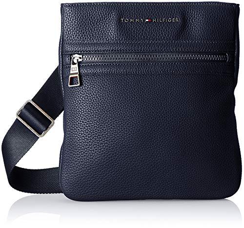 Tommy Hilfiger 2 Tasche (Tommy Hilfiger Herren Essential Crossover Ii Schultertasche, Blau (Tommy Navy/Core Stp), 3x26x24 cm)