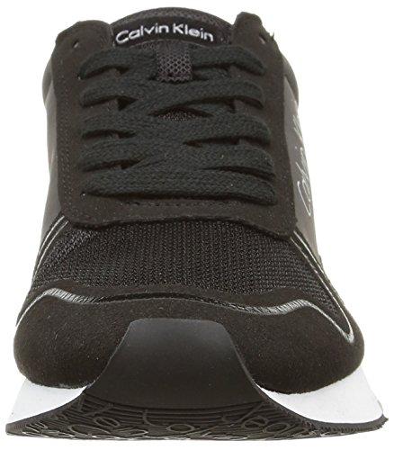 Calvin Klein Jeans Jude, Baskets Basses Homme Noir (Bbk)