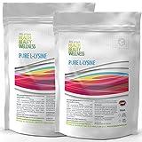 REINES LYSIN | 2x 500 (1000) Tabletten á 1000mg | Hochdosiert VEGAN | Aminosäuren | Antikatabol + Anabol, Muskelaufbau+Fettverbrennung | hemmt Alterungsprozess - zum fairen Preis