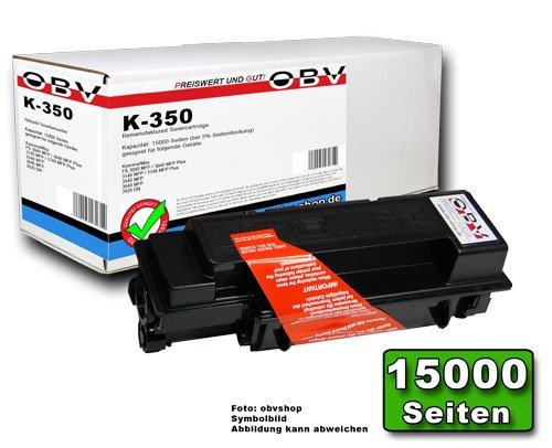 Preisvergleich Produktbild OBV kompatibler Toner ersetzt Kyocera TK-350 / 1T02J10EU0 passend für Kyocera für FS 3040 / 3140 / 3540 / 3640 / 3920 , Kapazität 15000 Seiten, schwarz