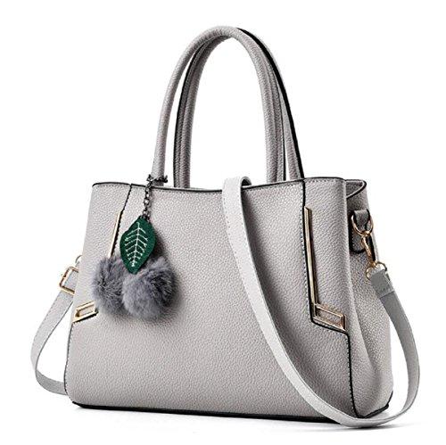 Borse A Tracolla Alla Moda Donna MYLL Borsa A Tracolla Messenger Bag,LightGray LightGray