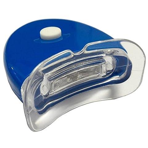 WHITE FIRST - Lampe pour kit de blanchiment dentaire accélératrice professionnelle Tooth Whitening Tooth Pro / Lampe UV / A appliquer pour réduire le temps de traitement d