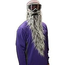Beardski Easy Rider Máscara de esquí, máscara de snowboard. Protección de la cara, barba falsa, pasamontañas