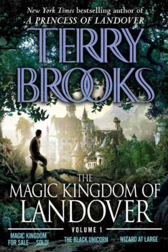 (The Magic Kingdom of Landover Volume 1: Magic Kingdom for Sale Sold! - The Black Unicorn - Wizard at Large) By Brooks, Terry (Author) Paperback on (08 , 2009)