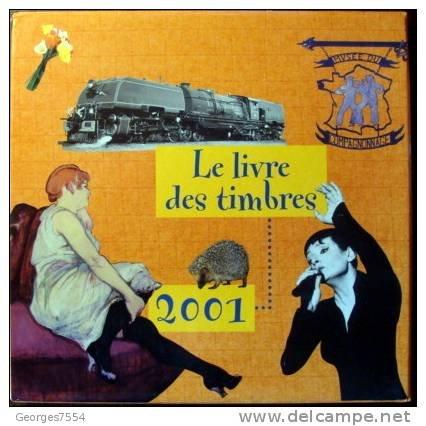 Le livre des timbres 2001 par Collectif