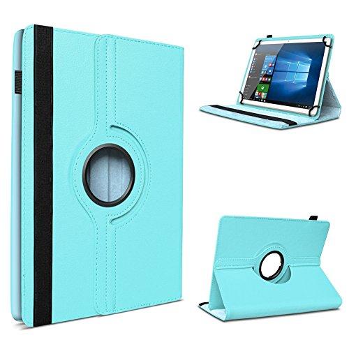 UC-Express Tasche Hülle Cover für Acer Iconia One 10 B3-A10 Case Tablet Schutzhülle Schutz, Farben:Türkis
