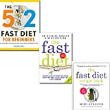The Fast Diet Collection Recipe 3 Books Set, (The Fast Diet Recipe Book: 150 Delicious, Calorie-controlled & The Fast Diet: The Secret of Intermittent Fasting, The 5:2 Diet Cook Book: Recipes for the 2-Day Fasting Diet. Makes 500 or 600 Calorie)