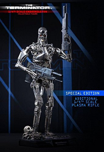 Hot Toys The Terminator - T-800 Endoskeleton Special Edition Ver. 1/4 Scale Figure 2