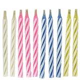 Hengzi Zaubertrick Wiederbelebung Geburtstag Kerze 10 Stück Frech Party Witz Geschenk Kinder Spielzeug