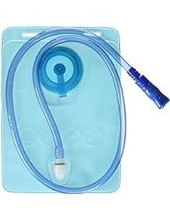 Elementerre CAMELUS 1L - Bolsa de hidratación de 1 litro, color azul, talla única