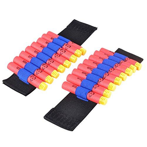 Cinturn-portabalas-de-Nerf-ajustable-de-Fuyuanshan-para-la-lanzadora-Nerf-N-strike-Elite-Series-pistola-de-juguete-2-unidades