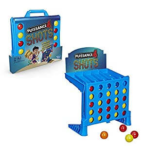 Hasbro Juegos niños-4 Gaming-Potencia 4Shots-Juego de Societe, e3578101, Multicolor