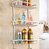 Die besten 3M Bestecke - Home-Neat 3 Etagen Duschkorb Duschablage ohne Bohren, Patentierter Bewertungen
