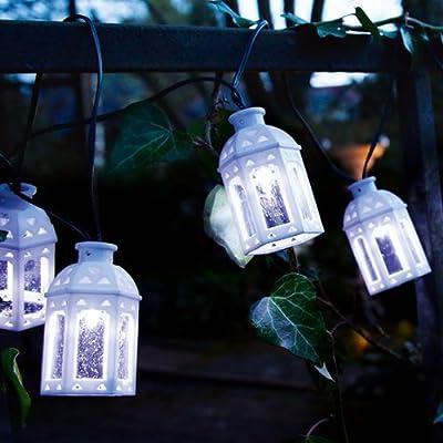 Pötschke Ambiente LED-Solar-Lichterkette mit Orientalische Laternen von Pötschke Ambiente auf Lampenhans.de