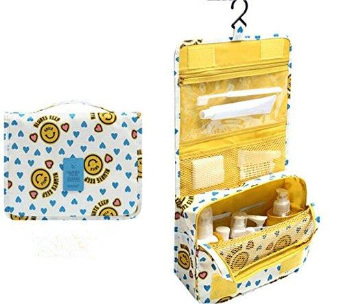 HQYSS Borse donna Appeso il pacchetto di ammissione trousse viaggio portatile ultra-pratico , yellow yellow
