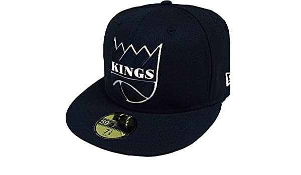 new styles ecb5b 80eb3 ... 2tone 59fifty fitted hat 8de1f 3f34a  sweden new era sacramento kings  hwc nba black white 59fifty fitted cap limited edition amazon clothing