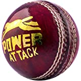 Cricket Power Attack Leather Ball (Best Quality)