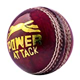 #3: Acorn Leather Cricket Power Attack Ball (Red, SGo0002)