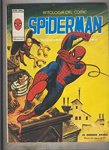 Antologia del comic volumen 13: Spiderman (numerado 2 en trasera)