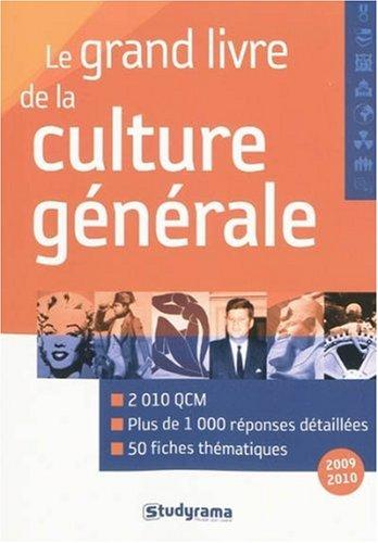 Grand livre de la culture generale 3edt (le)